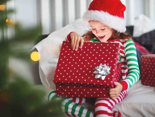 Navidad regalos niños